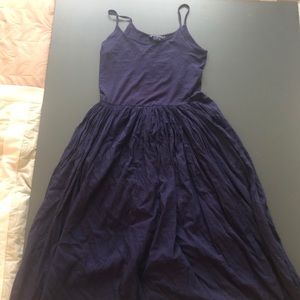 French Connection Navy  Maxi Dress - size 8